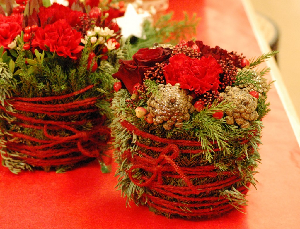 Juliga dekorationer från nordvikskolan