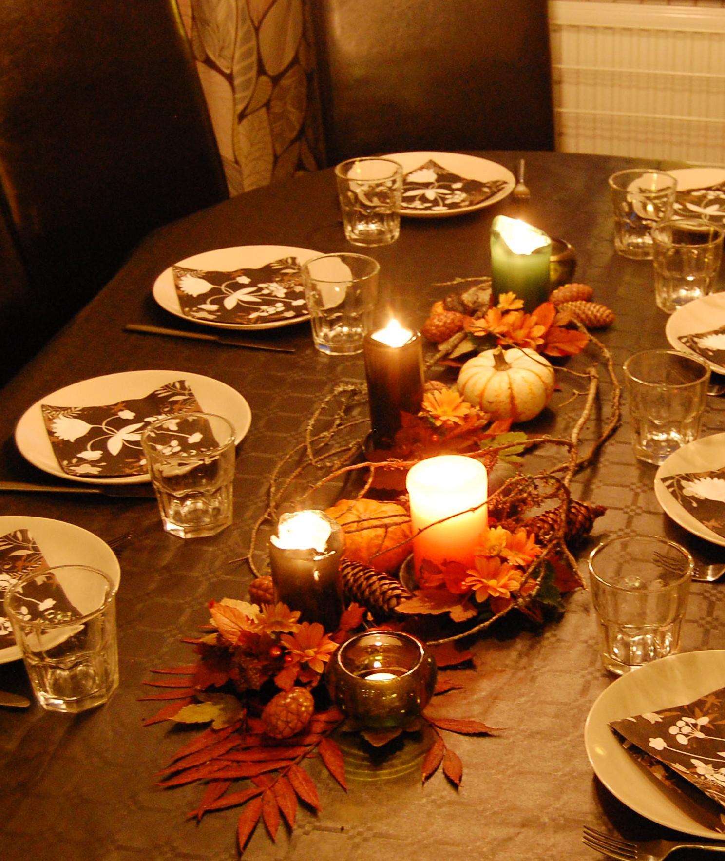 Bordsdekoration till h stens stora fest - Winterliche dekoration ...