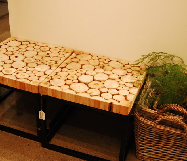 Pall med träslantar