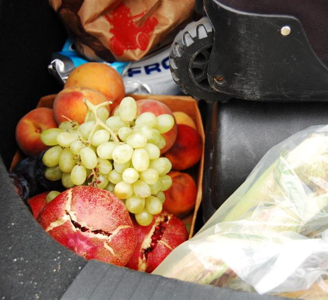 Frukt i bagaget!