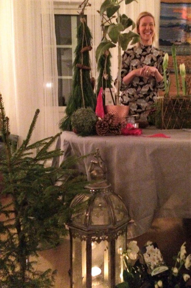 Jenny från Nordvik med många roliga tips för julpyntningen