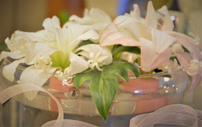 Överblivna julblommor blir ny dekoration