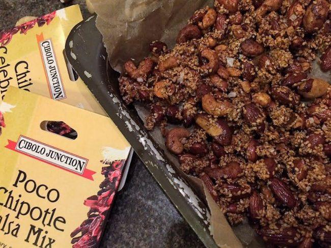 Kryddstarka nötter
